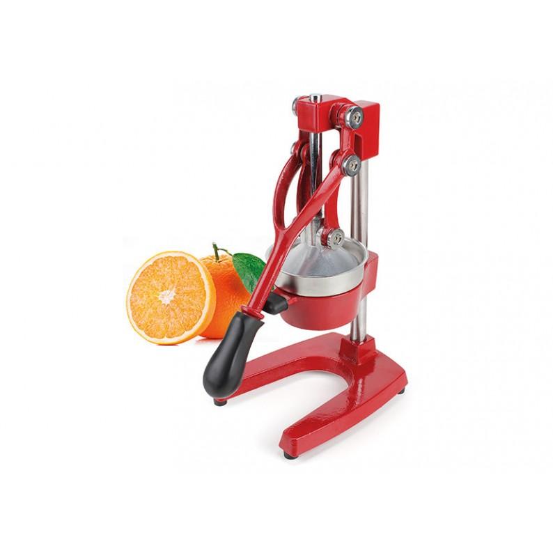 Spremi arancia da banco in ghisa colore rosso