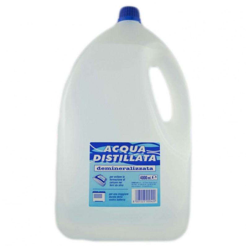 acqua distillata profumata per vaporetto