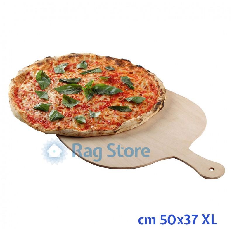 Pala tagliere per pizza realizzata in legno di betulla modello XL