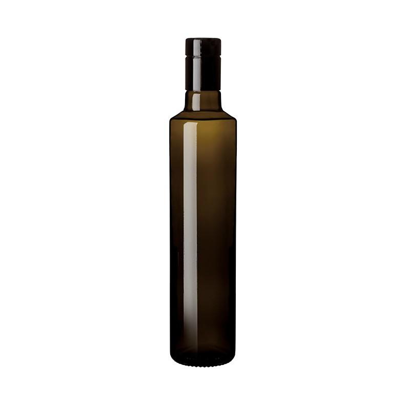 bottiglia rotonda Dorica bocca incastro 500 ml