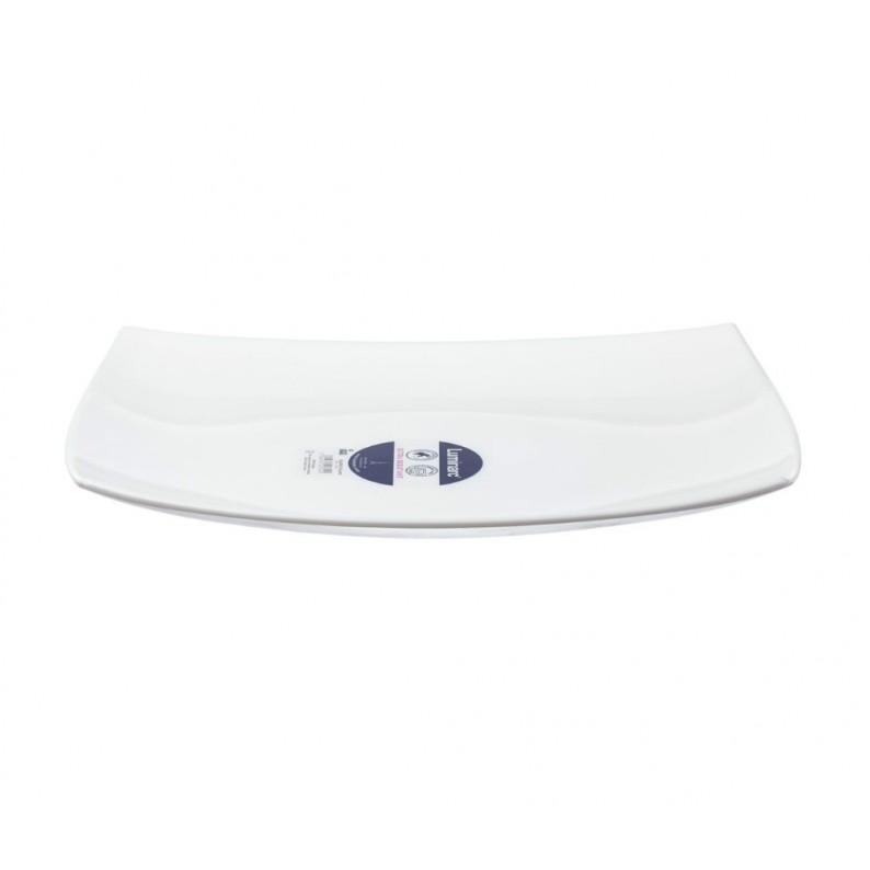piatto portata rettangolare quadrato luminarc cm 35x25