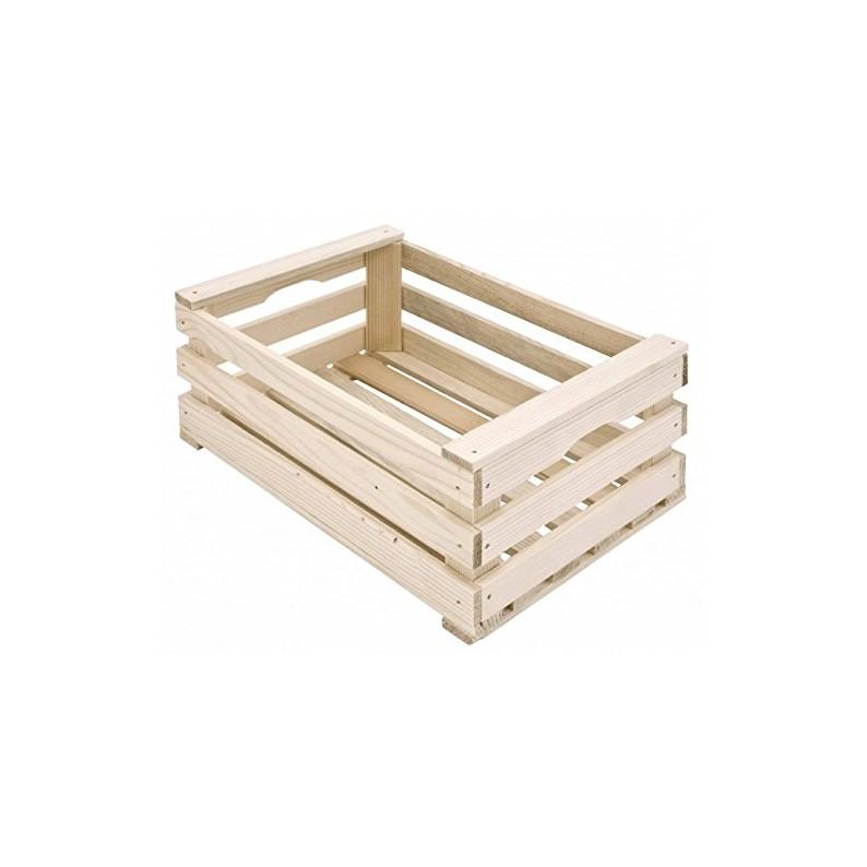 cestino in legno per pane e confezioni cm 25x17x10