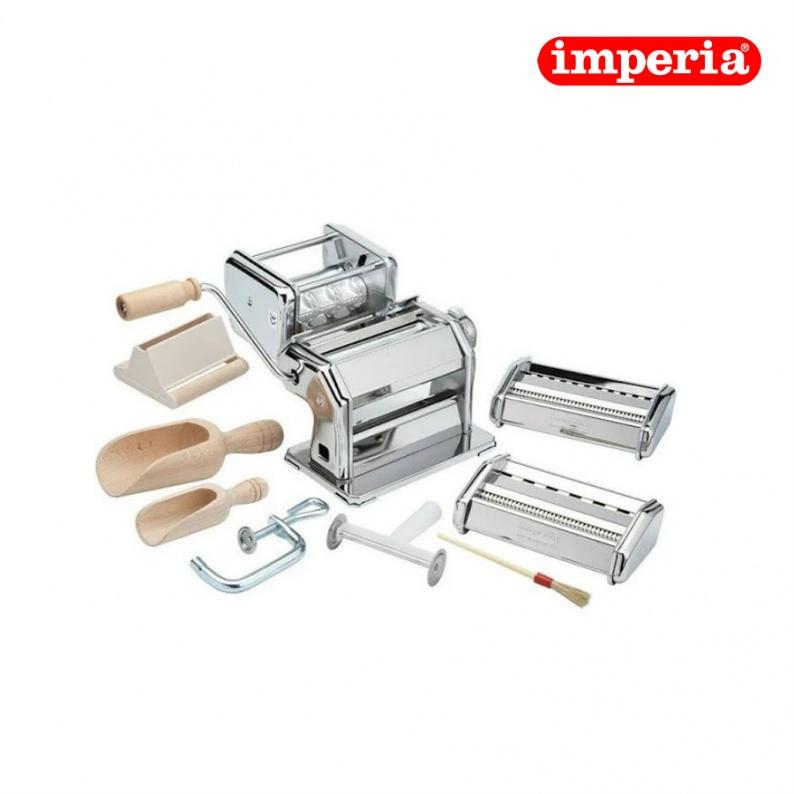 Macchina per pasta completa di accessori - Imperia la fabbrica della pasta