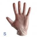 guanti monouso in vinile Flexto taglia S - 100 pz