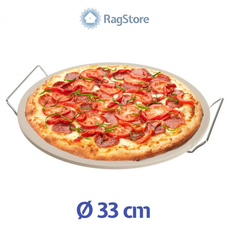 Pietra refrattaria per cottura pizza cm 33