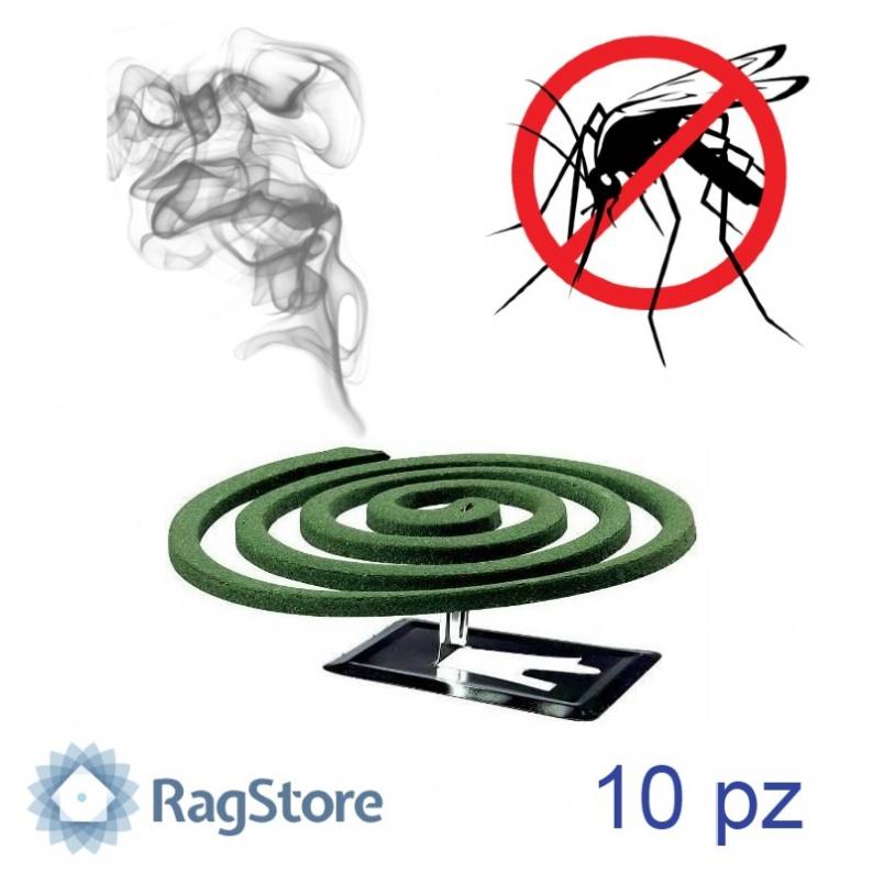 Stop spiarle son supporto anti zanzara da esterno 10 pz