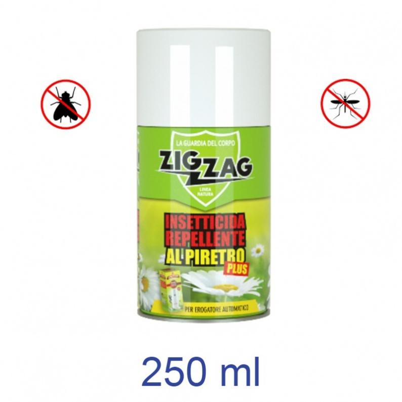 Bomboletta insetticida al piretro per dispenser automatici Zig Zag ebano