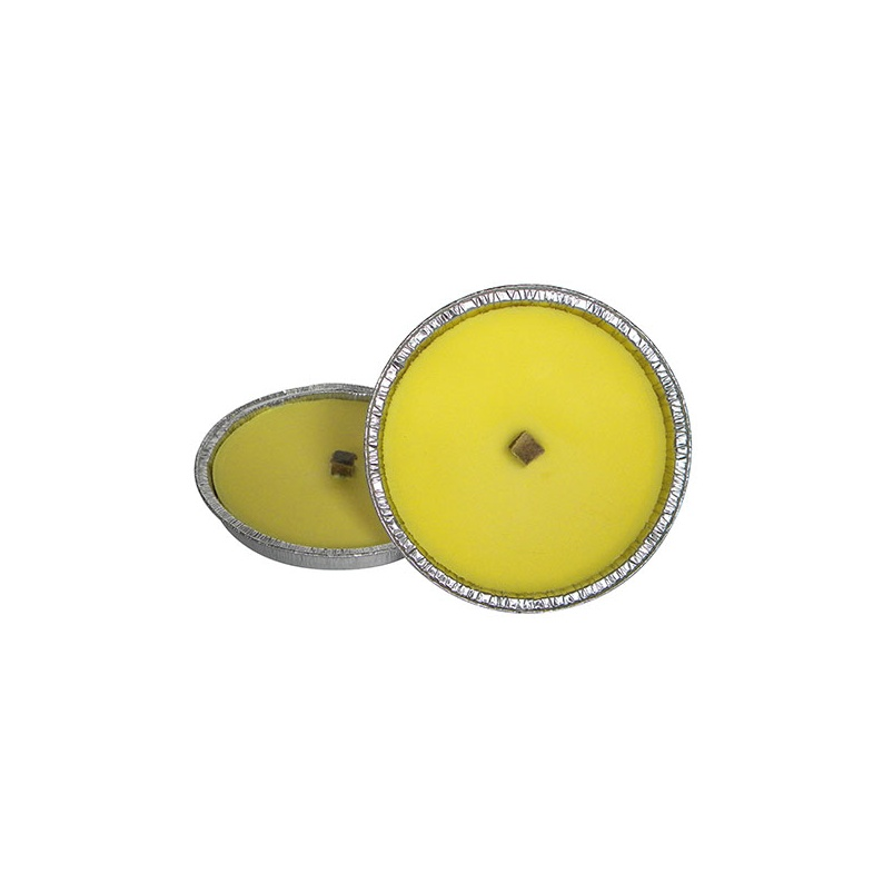 Fiaccola alla citronella in ciotola di stagno da 16 cm