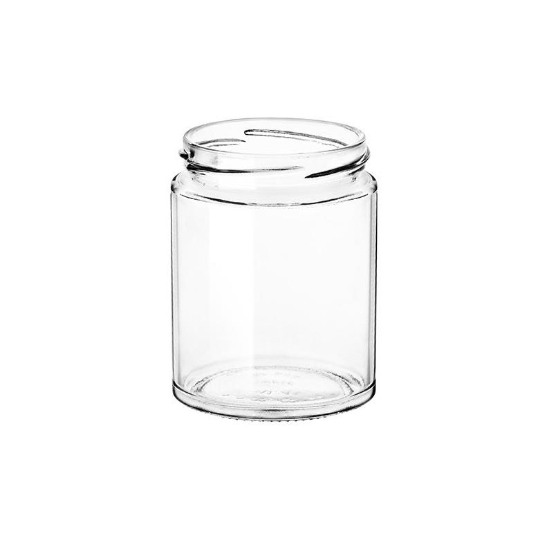 Barattolo vasetto in vetro cilindro modello Minimal da 314 ml