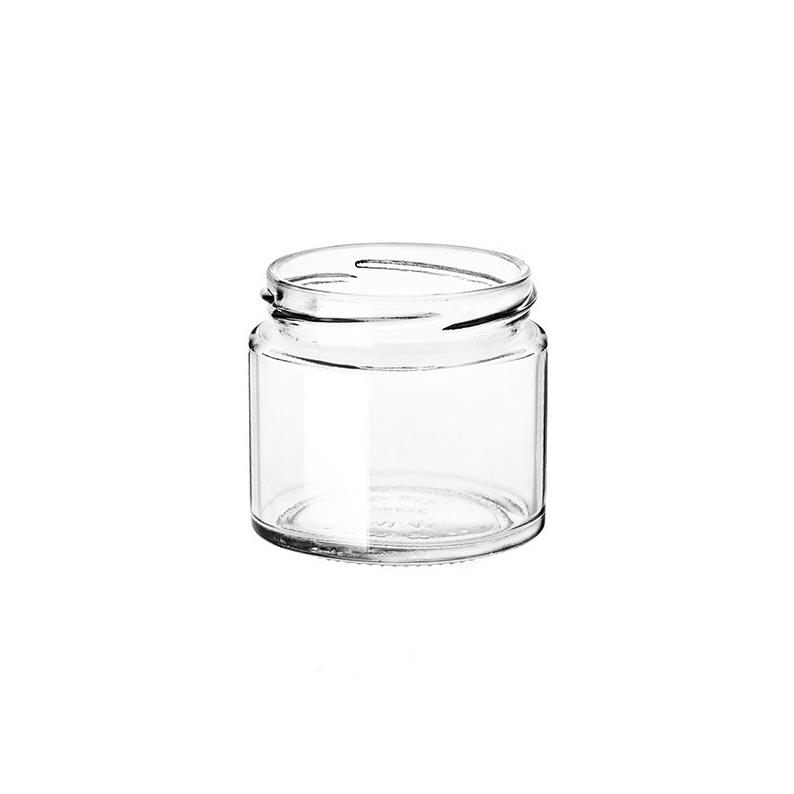 Vasetto in vetro semplice modello Minimal da 212 ml
