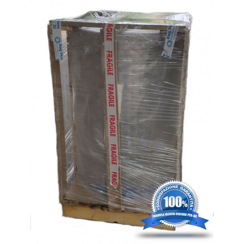 Protezione in legno per la spedizione e consegna di contenitori inox