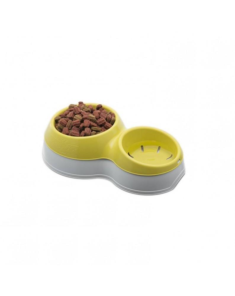 Ciotolotto porta cibo e acqua per cane - Bama