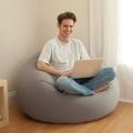 Poltrona gonfiabile ad aria per soggiorno colore Grigio - Intex