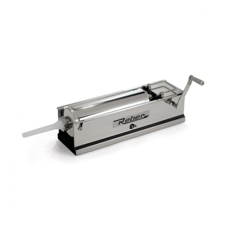 Insaccatrice manuale inox da 5 kg - Reber