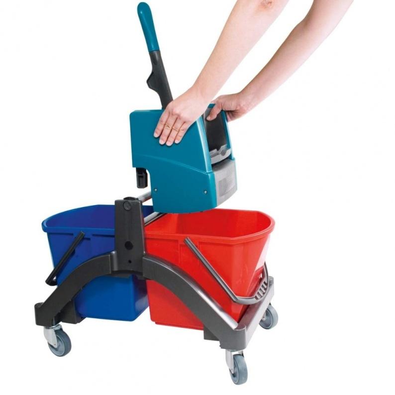 Lava pavimenti professionale con strizzatore Leifheit