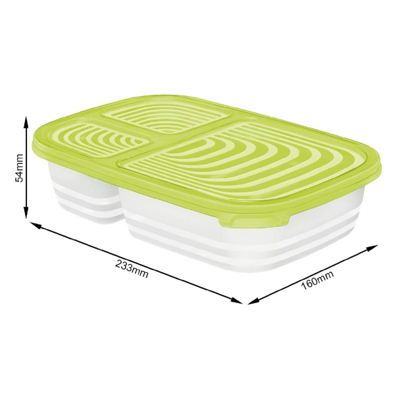 Dimensioni box alimenti frigo Sunshine multi 1 litro Rotho