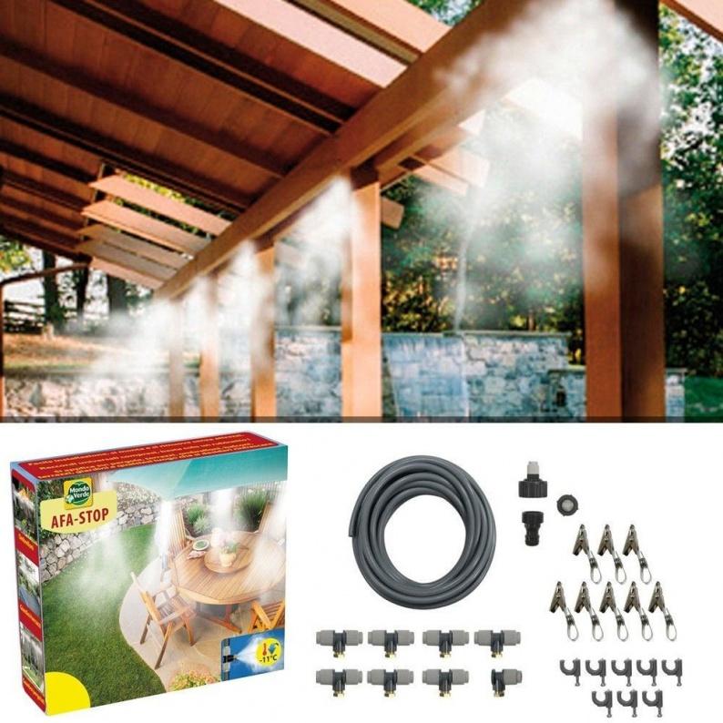 Sistema per nebulizzare l'acqua Afa stop 15 metri