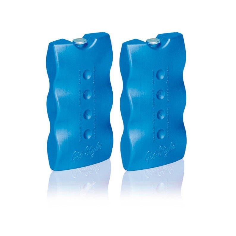 Tavolette ghiaccio chimico per borse frigo Giostyle 2x400 gr