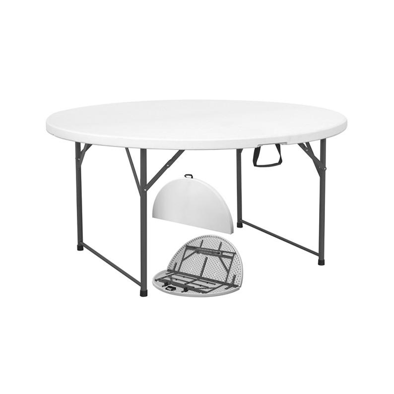 Tavolo rotondo da catering pieghevole da 150 cm