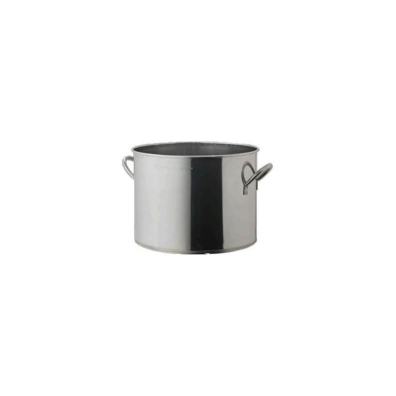Pentola in acciaio per la cottura di salsa e barattoli