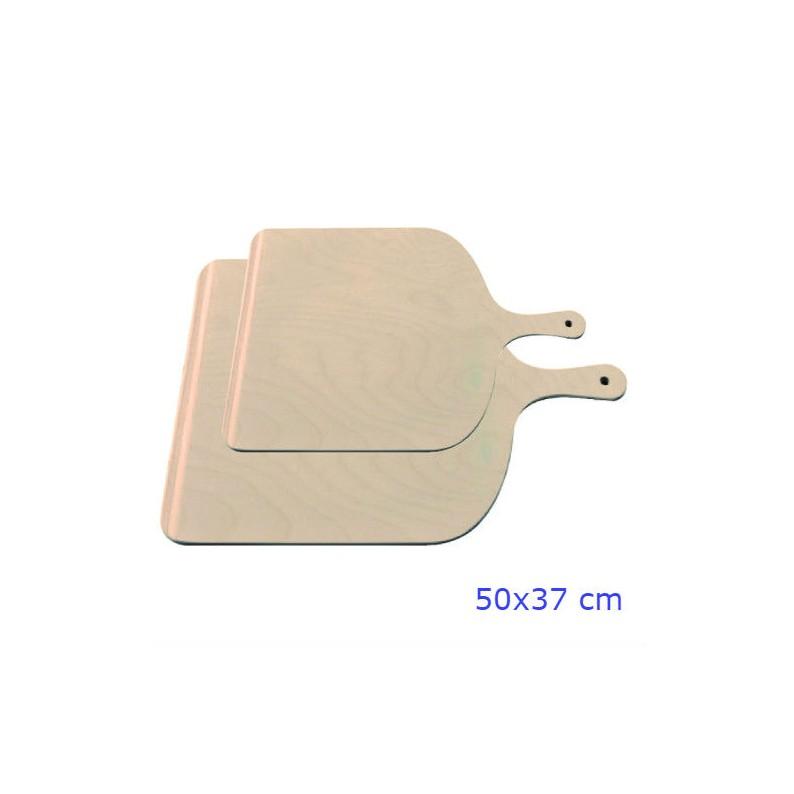Pale per servire la pizza in legno cm 50x37