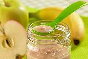 Omogeneizzati di frutta