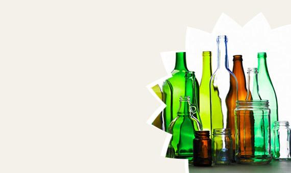 Barattoli e bottiglie in vetro
